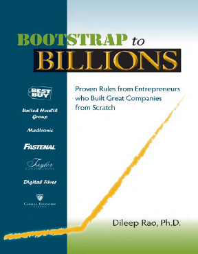 Bootstrap To Billions, by Dileep Rao